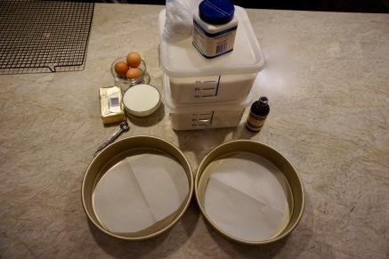 Cake materials