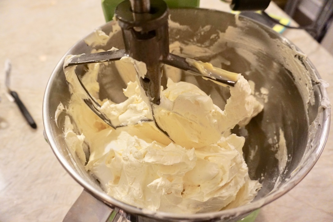 Silky smooth vanilla buttercream