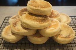 Do you bake english muffins?