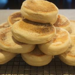 Do you bake english muffins?