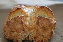 Is Irish soda bread supposed just be a giant biscuit?