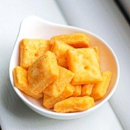 Homemade back to school cheesy snacks