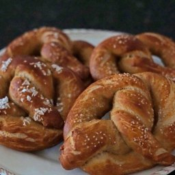 Pretzels and beer are match made in soft pretzel heaven